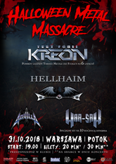 halloween metal massacre plakatb m