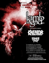 lamb of god i kreator plakat m