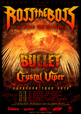 ross the boss bullet crystal viper m